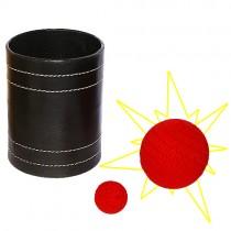 Chop cup in pelle - Jumbo