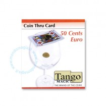Coin thru card - 50 cents Euro