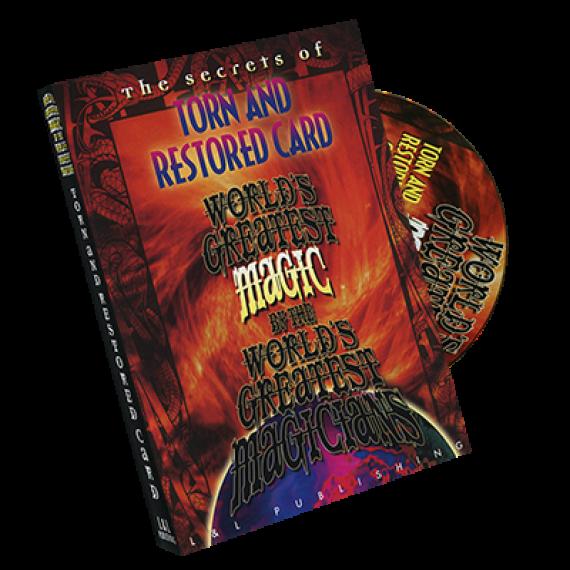 Torn and Restored (World's Greatest Magic)  carta strappata e restaurata
