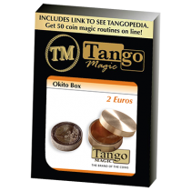 Okito Box 2 Euro (alluminio) by Tango Magic