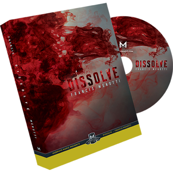 Dissolve (DVD and Gimmick) by Francis Menotti