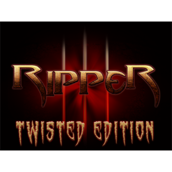 Ripper (Twisted Edition) DVD & Gimmicks by Matthew Wright