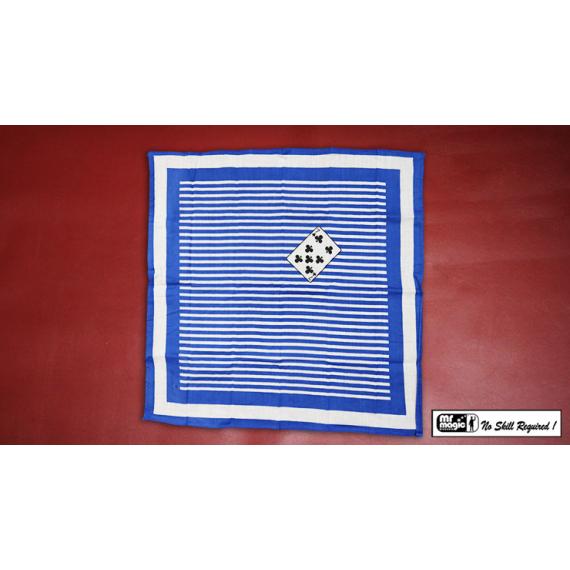 Card Impression Hanky 22 inch x 22 inch by Mr. Magic