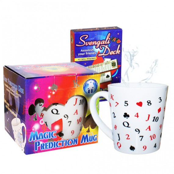 Magic Prediction Mug - Q di fiori