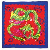 Sitta Dragon Silk - Rosso - Cm 90 x 90