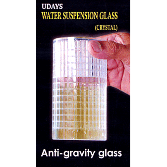 Water Suspension Glass (clear) by Uday
