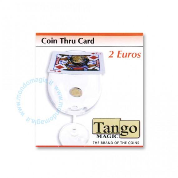 Coin thru card - 2 Euro
