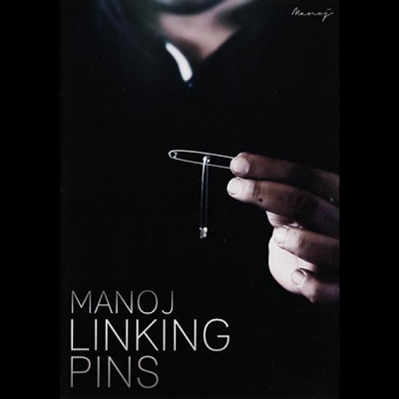 Manoj Linking Pins (Gimmicks and DVD) by Manoj Kaushal