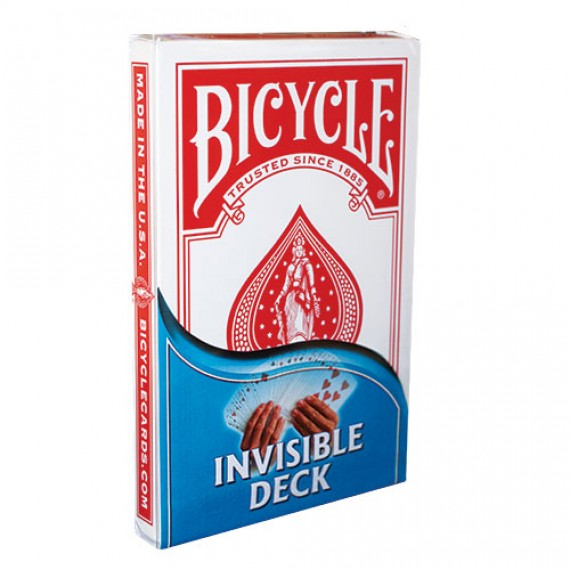 Bicycle - Big Box - Invisible - Dorso rosso