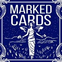 BICYCLE MARKED DECK - DORSO BLU
