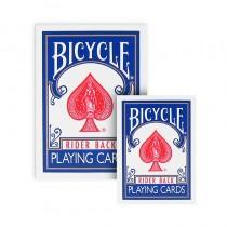 Bicycle - Mini Playing Cards - Dorso blu