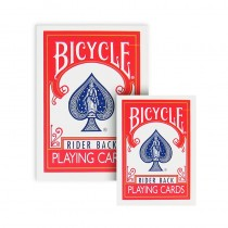 Bicycle - Mini Playing Cards - Dorso rosso