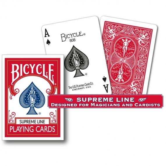Bicycle - Supreme Line - Dorso rosso