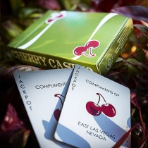 Cherry Casino Fremonts (Sahara Green) Playing Cards