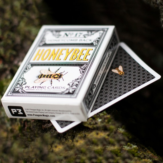 Honeybee V2 Playing Cards - Black