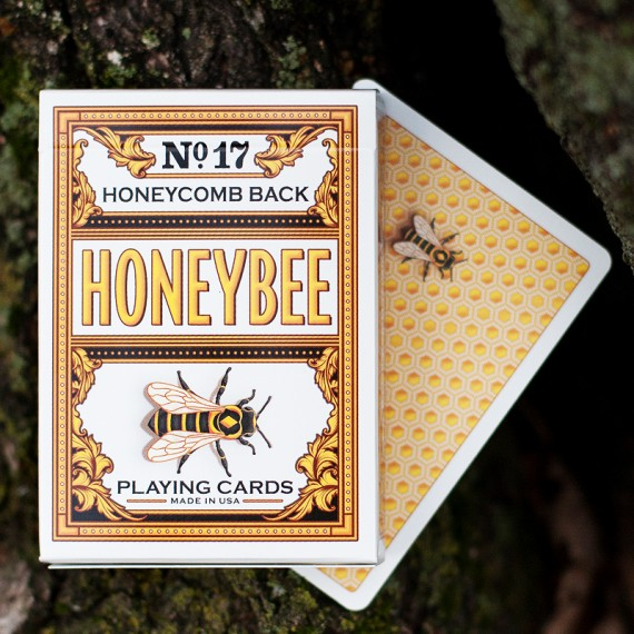 Honeybee V2 Playing Cards - Yellow