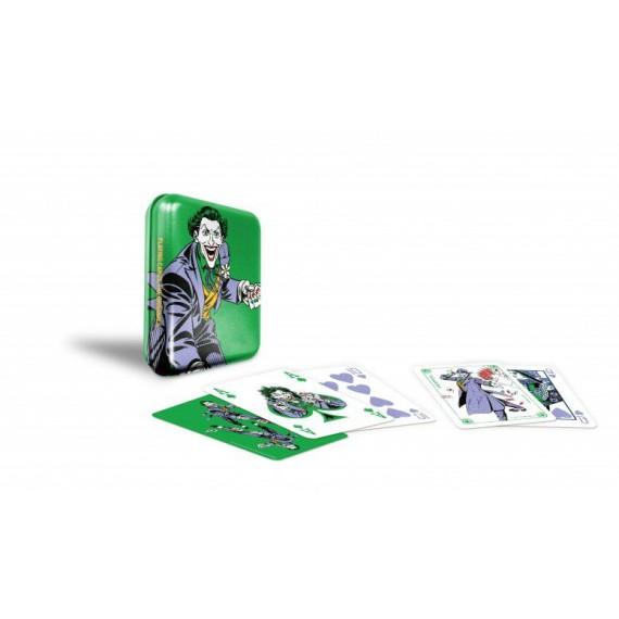 Joker Tin Box Playing Cards