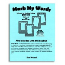 Mark My Words by Ken Driscoll