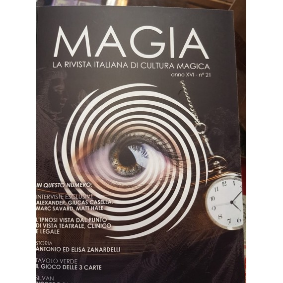 MAGIA 21 IPNOSI E SUGGESTIONE