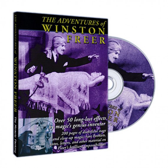 The Adventures of Winston Freer CD by Miracle Factory