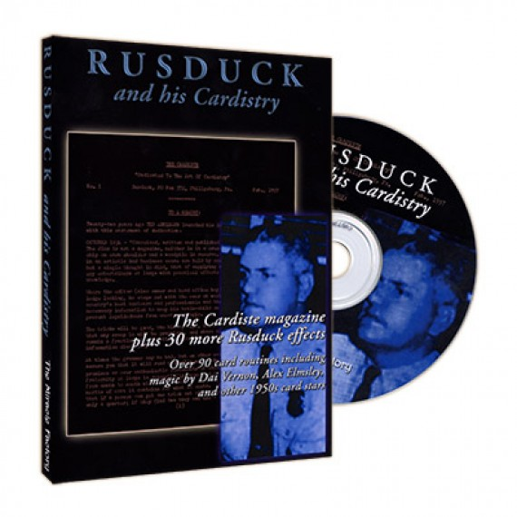 The Cardiste CD by Rusduck