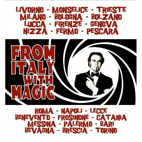FROM ITALY WITH MAGIC LECTURE TOUR 2019 MATTEO FILIPPINI