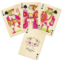 Red Hotcakes Playing Cards by Uusi