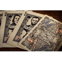 Bicycle US Presidents Playing Cards (Deluxe Embossed Collector Edition) by Collectable Playing Cards