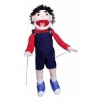 pupazzo bambino per ventriloqui (piccolo)