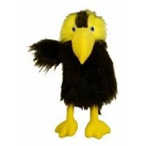 pupazzo corvo  per ventriloqui