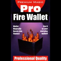portafoglio in fiamme Fire Wallet by Premium Magic