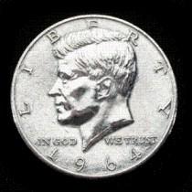 mezzo dollaro gigante