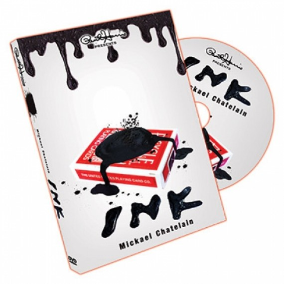 INK MICKAEL CHATELAIN dvd + gimmick