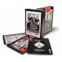 bicycle- tiger deck pip red