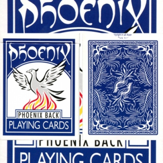 Phoenix Deck (dorso blu) by Card-Shark