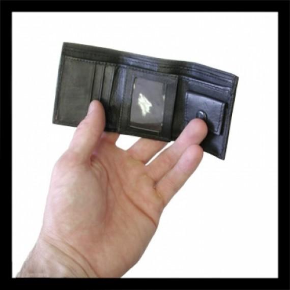Mini portafoglio magico-comico