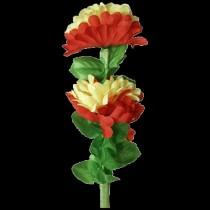 Doppio fiore che si piega