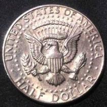 conchiglia espansa(economica) per mezzo dollaro