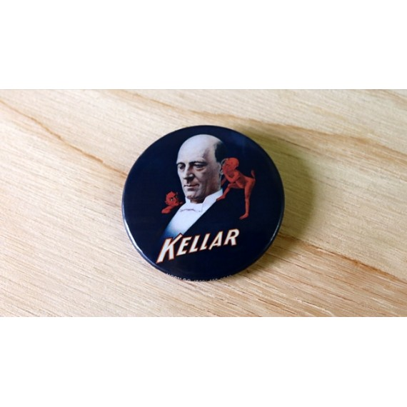 Rara spilla Kellar Keller Pin-Back Button