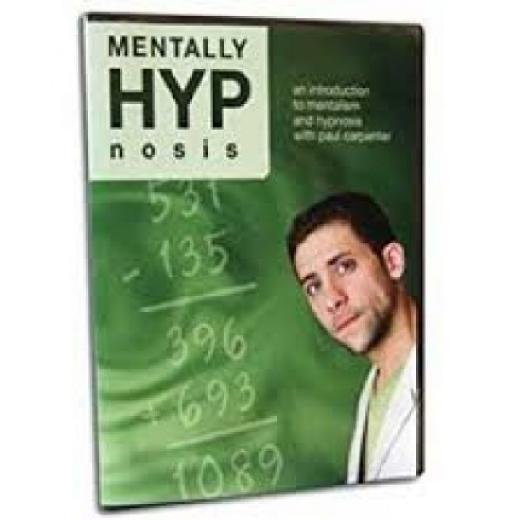 Mentally HYP Nosis DVD - An Introduction to Mentalism and Hypnosis with Paul Carpenter