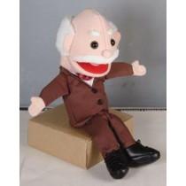 Pupazzo per ventriloqui nonno (piccolo)