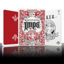 Gamesters Playing Cards - Red