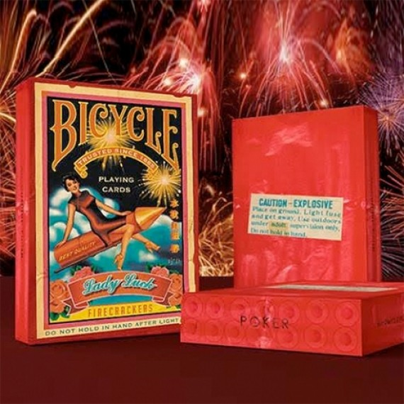 Bicycle - Firecrackers Playing Cards