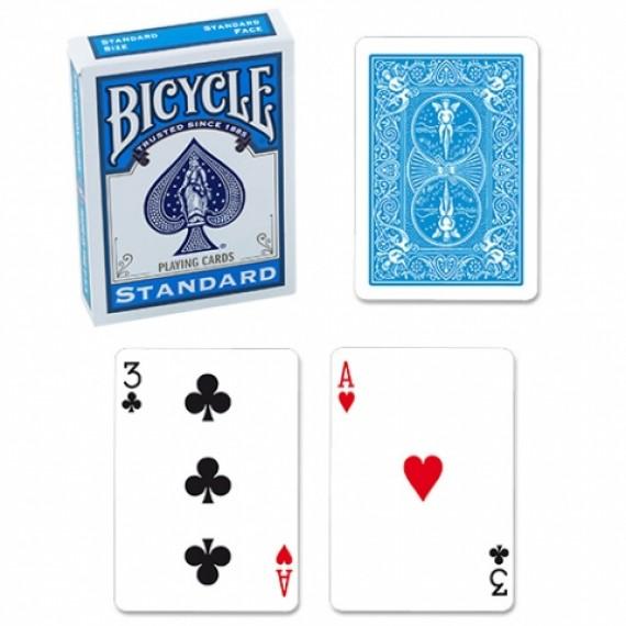 Bicycle - Mazzo regolare formato poker - Turchese