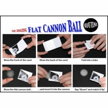Flat Cannon Ball by Chazpro Magic Co.