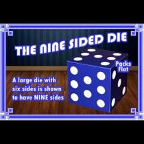 Nine Sided Die by Angelo Carbone
